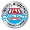 We Shop Local Badge